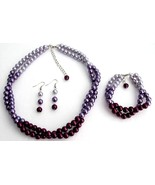Purple Wedding Combo Colors Plum Purple Lilac M... - $24.83