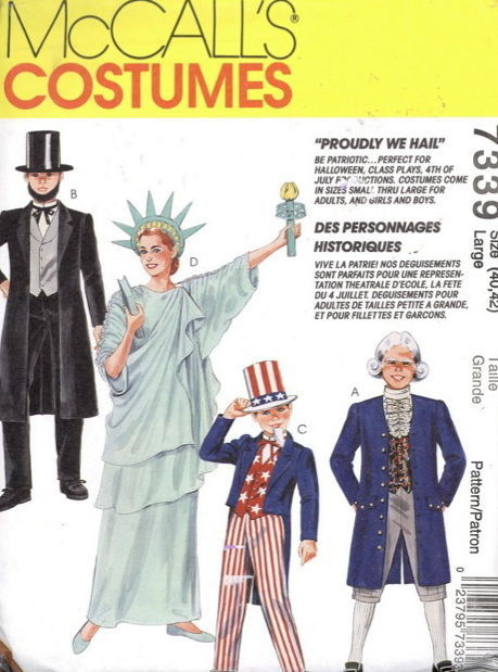 Remarkable, rather sewing pattern of adult statue of liberty