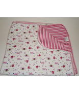 Puddles N Bubbles Girl Baby Blanket Teddy Bears... - $29.97