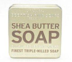 Scottish Fine Soaps - Shea Butter Soap - In a t... - $12.99