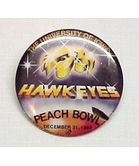1982 University of Iowa IA Hawkeye Peach Bowl B... - $10.95