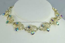 Vintage Unsigned Aurora Borealis Rhinestone Nec... - $37.12
