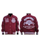 Morehouse College Long sleeve Race Jacket HBCU ... - $104.99