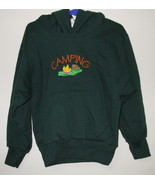 Girls Port and Co Green Hooded Long Sleeve Camp... - $6.00