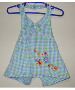 Girls Toddler Okie Dokie Blue White Halter Top ... - $4.00