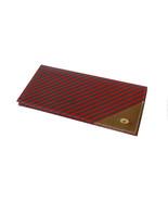 Authentic Gucci Red  & Green Diagonal Stripe Bi... - $150.00