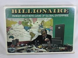 Billionaire Global Enterprise 1973 Parker Broth... - $20.79