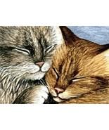 ACEO art print Cat #265 by L. Dumas - $4.99