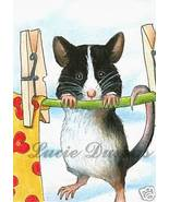 ACEO art print Mouse 8 fantasy by L.Dumas - $4.99