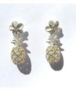 Hawaiian Gold on Sterling Silver .925 Pineapple... - $22.76