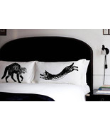 Cat Fight 2 Pillow fighting pillowcases fight f... - $28.98