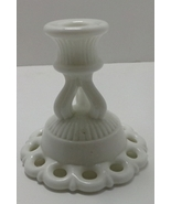 Vintage Westmoreland Candlestick Holder Milk Glass - $6.00