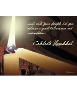 Light of the Candles Hanukkah Holiday Card - $3.25