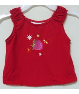 Girls Toddler Wonder Kids Red Sleeveless Top Si... - $4.00