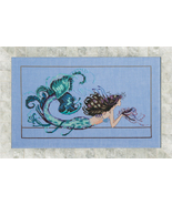 Mermaid Undine MD134 FULL LINEN KIT cross stitc... - $80.55