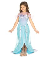 Beautiful Deluxe Blue Mermaid Princess Ariel Dr... - $34.95