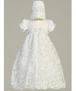 Gorgeous Baby Girls Embroidered Lace Christenin... - $78.00