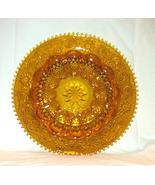 Vintage Tiara Exclusives Indiana Glass amber deviled egg plate platter - $10.00
