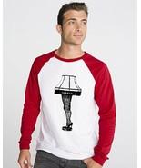 Mens raglan long sleeve shirt graphic tee Leg L... - $19.99
