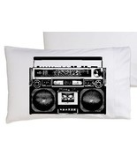 Two (2) A Boombox Is Not A Toy pillowcase funny... - $19.99