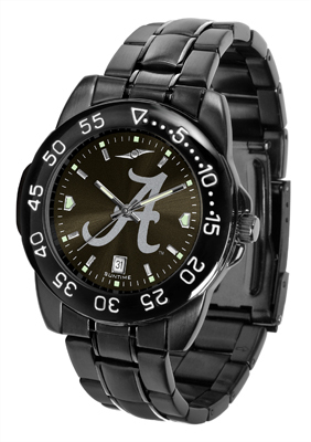 Alabama Crimson Tide Fantom Black Sport Watch