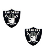 Oakland Raiders Licensed Stud Earrings - $8.48