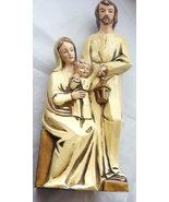 Vintage Ceramic Joseph Mary and Baby Jesus Nati... - $52.00