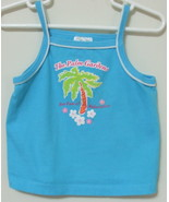 Girls Toddler Kid Connection Aqua Tank Top Size 3T - $4.00