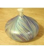 Oil Lamp Hand Blown Art Glass - $18.00