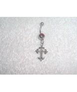 Cute Cross Navel Belly Ring Body Jewelry Pierci... - $5.95