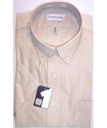 NWT Van Heusen Tan/Beige Wrinkle Free 2 Pocket ... - $21.99