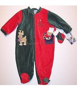 NWT Little Me My First Christmas Corduroy Velou... - $14.99