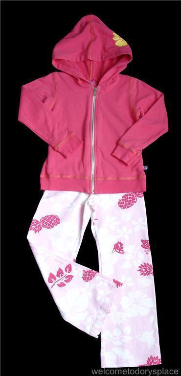 CHARLIE ROCKET Pink Hoodie Set 5 GIRL Boutique BRAND