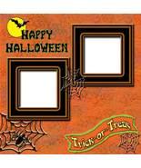 Halloween 4 ~ Digital Scrapbooking Quick Page L... - $3.00