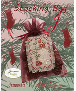 Stocking Bag cross stitch kit Jeanette Douglas ... - $16.20