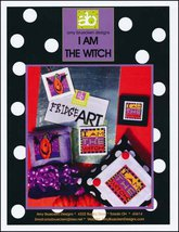 I Am The Witch halloween cross stitch chart Amy... - $7.20