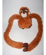 FAO Schwarz Orangutan Hanging Monkey Plush Stuf... - $9.79