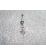 Cactus Desert Charm Navel Belly Ring Body Jewel... - $4.95