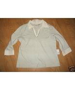 Ladies CHEROKEE Soft Cotton shell London Smoke ... - $9.99