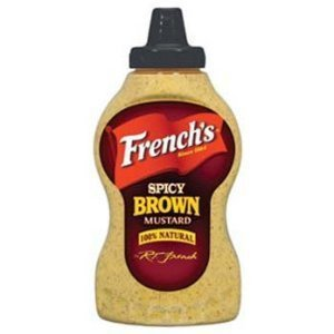 French's Spicy Brown Mustard 12 oz (Pack of 3) - Grocery Stores
