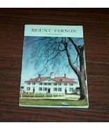 Vintage Book Mount Vernon Virginia Handbook 1962 - $10.00