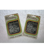 2 Packages Small Holly Leave Beads 21 X 12 mm b... - $1.99