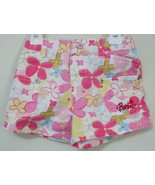 Girls Toddler Barbie Pink Flowered Shorts Size 4T - $4.00