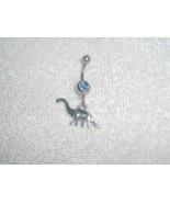 Dinosaur Charm Navel Belly Ring Body Jewelry Pi... - $5.95