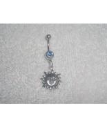 Celestial Sun Charm Navel Belly Ring Body Jewel... - $5.95