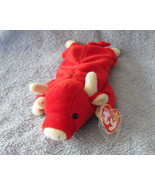 Ty Beanie Baby Babies Snort the Bull Retired  - $5.00
