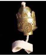 Nutmeg Oil Lamp Burner Miniature Mini Solid Bra... - $19.95