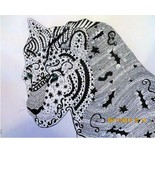 Art Deco Tiger..Original Art by D.Wysocki - $12.95