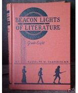 Old Book Text Advance Sample Copy Beacon Lights... - $8.00