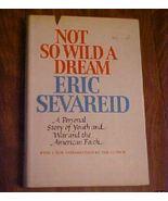 Old Book Autobiography Not So Wild A Dream Seva... - $7.00